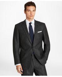 Brooks Brothers - Regent Fit Herringbone 1818 Suit - Lyst