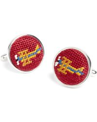 Brooks Brothers - Needlepoint Cufflinks - Lyst