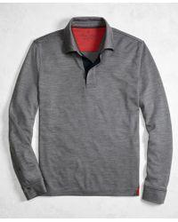 Brooks Brothers - Golden Fleece® Brookstech Performance Interlock Long-sleeve Polo Shirt - Lyst