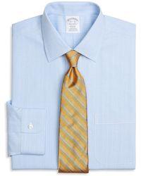 Brooks Brothers - Milano Slim-fit Dress Shirt, Non-iron Glen Plaid - Lyst