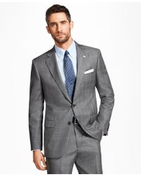 Brooks Brothers | Madison Fit Saxxon Wool Plaid With Deco 1818 Suit | Lyst