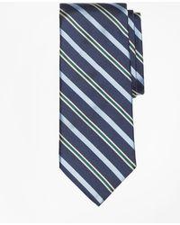 Brooks Brothers - Tonal Alternating Split Stripe Tie - Lyst