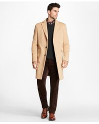 Brooks Brothers - Camel Hair Polo Coat - Lyst