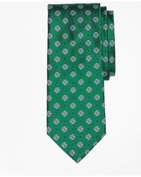 Brooks Brothers - Framed Diamond Medallion Tie - Lyst