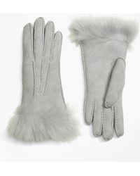 Brooks Brothers | Shearling Gloves | Lyst