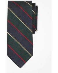 Brooks Brothers - Argyle Sutherland Rep Slim Tie - Lyst