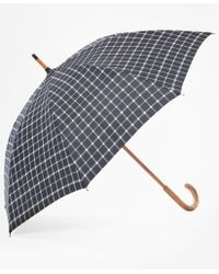 Brooks Brothers | Tattersall Umbrella | Lyst