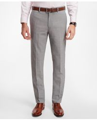 Brooks Brothers - Regent Fit Brookscool® Trousers - Lyst