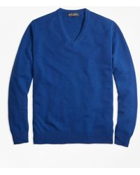 Brooks Brothers - Cashmere V-neck Sweater - Lyst