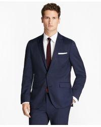 Brooks Brothers - Alternating Pinstripe Wool Suit Jacket - Lyst