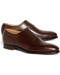 Brooks Brothers | Peal & Co.® Perforated Captoes | Lyst