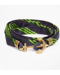 Brooks Brothers - Wrap Bracelet By Kiel James Patrick - Lyst
