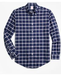 Brooks Brothers - Non-iron Madison Fit Check Sport Shirt - Lyst