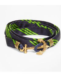 Brooks Brothers - Wrap Bracelet By Kiel James Patrick - Lyst