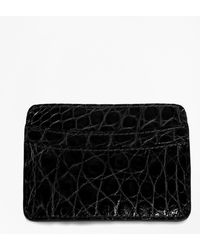 Brooks Brothers - American Alligator Card Case - Lyst