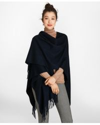 Brooks Brothers - Cashmere Ruana - Lyst