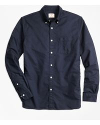 Brooks Brothers - Solid Oxford Polo Button-down Shirt - Lyst