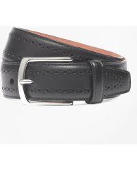 Brooks Brothers - Allen Edmonds Perforated Belt - Lyst