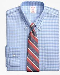 Brooks Brothers - Brookscool® Madison Classic-fit Dress Shirt, Non-iron Glen Plaid - Lyst