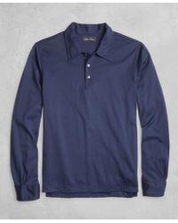 Brooks Brothers - Golden Fleece® Long-sleeve Polo Shirt - Lyst