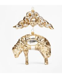 Brooks Brothers | Limited-edition 200th Anniversary Golden Fleece® Ornament | Lyst