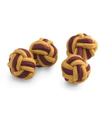 Brooks Brothers | Knotted Rope Cufflinks | Lyst