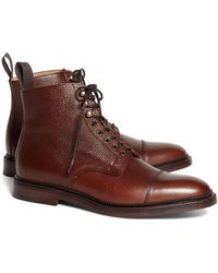 Brooks Brothers - Peal & Co Captoe Boots - Lyst