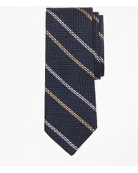 Brooks Brothers - Textured Wide Framed Stripe Tie - Lyst