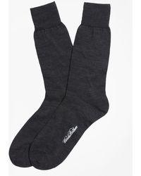 Brooks Brothers - Merino Wool Jersey Crew Socks - Lyst
