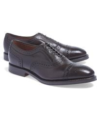 Brooks Brothers - Medallion Perforated Captoes - Lyst