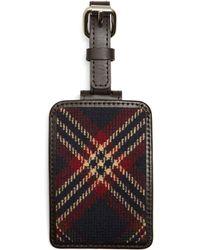 Brooks Brothers - Tartan Luggage Tag - Lyst