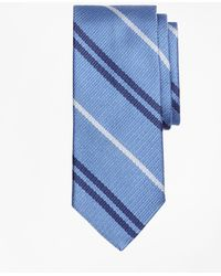 Brooks Brothers | Alternating Double Stripe Tie | Lyst