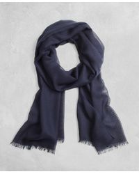 Brooks Brothers - Golden Fleece® Cashmere Silk Scarf - Lyst