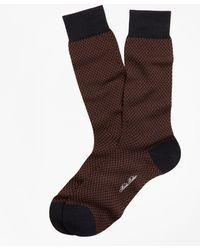 Brooks Brothers - Basketweave Crew Socks - Lyst