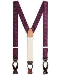 Brooks Brothers - Foulard Suspenders - Lyst