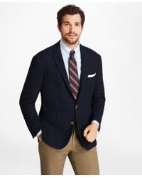 Brooks Brothers - Regent Fit Textured Two-button Blazer - Lyst
