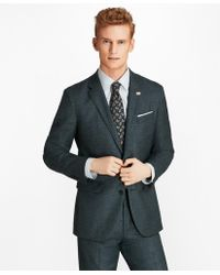 Brooks Brothers - Milano Fit Mini-check 1818 Suit - Lyst