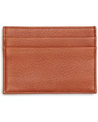 Brooks Brothers - Leather Card Case - Lyst