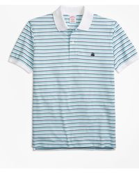 Brooks Brothers - Original Fit Supima® Oxford Stripe Polo Shirt - Lyst