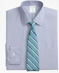 Brooks Brothers - Stretch Milano Slim-fit Dress Shirt, Non-iron Hairline Stripe - Lyst