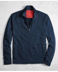 Brooks Brothers - Golden Fleece® Brookstech Merino Wool Performance Full-zip - Lyst