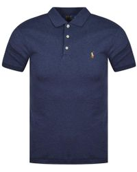 Polo Ralph Lauren - Navy Classic Polo Shirt - Lyst