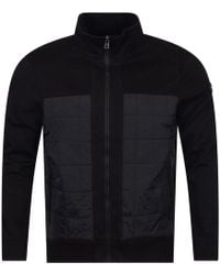 Michael Kors - Black Quilted Panel Jacket - Lyst