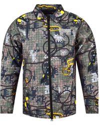 BBCICECREAM - Climbing Camo Zip Jacket - Lyst