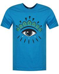 8ac571e13f2eb KENZO 'eye' T-shirt in Green for Men - Lyst