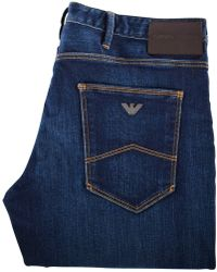 Emporio Armani Dark Wash J06 Slim Fit Jeans