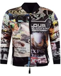 Blood Brother - Multi All Over Print Bomber Jacket - Lyst