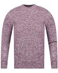 A.P.C. Burgundy Knit Jumper - Purple