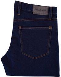 Michael Kors - Blue Rinse Kent Skinny Fit Jeans - Lyst