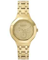 Versace - Versace Gold Vsp360517 Watch - Lyst